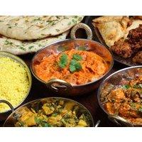 Indisches Mehr-Gänge-Menü